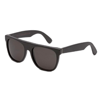 Super Flat Top IQAG 184 Matte Black Sunglasses