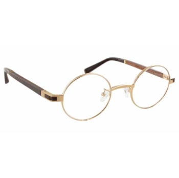 Gold & Wood Mizar Eyeglasses