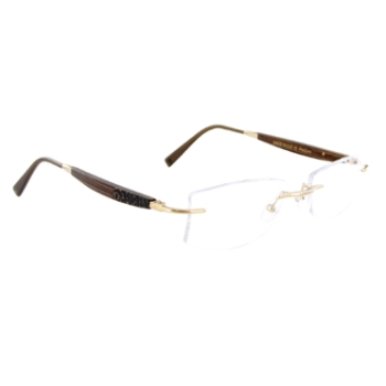 Gold & Wood N12-6-PmCr41 Eyeglasses