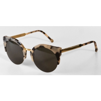 Super Lucia Francis IQ0M 344 Puma/Gold Large Sunglasses
