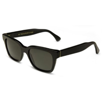 Super America Black IBQ1 Large Sunglasses