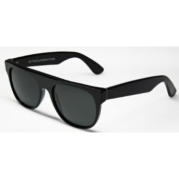 Super Flat Top IFTB 524 Black Small Sunglasses