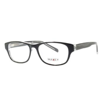 Top Look German Eyewear Plastic/Metal Combination Eyeglasses