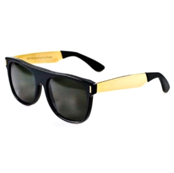 Super Flat Top Francis Black/Gold IHJU Sunglasses