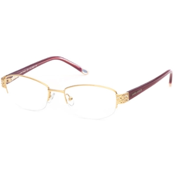 Custom Gold Eyeglass Frames : Custom Clip-On Eligible Laura Ashley Eyeglasses Discount ...