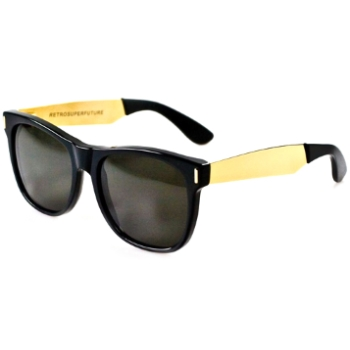 Super Basic Francis Black/Gold 202 Sunglasses