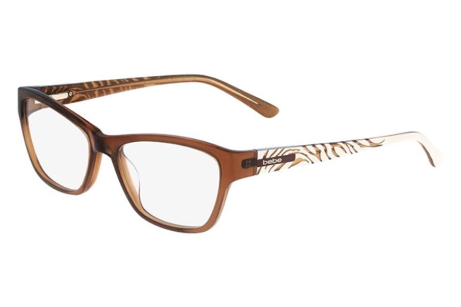 White Bebe Eyeglass Frames : Bebe BB5087 Lioness Eyeglasses by Bebe FREE Shipping
