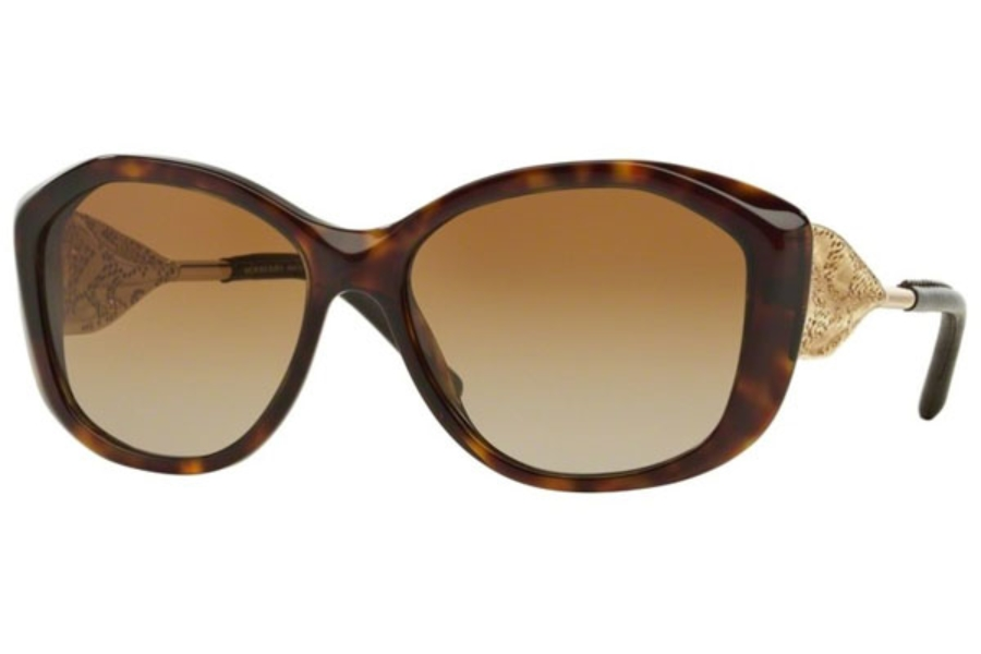 burberry sunglasses for women frbp  Burberry BE4208QF Sunglasses in 3002T5 Dark Havana