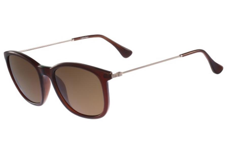 0683a29a4cf Calvin Klein Gold Aviator Sunglasses