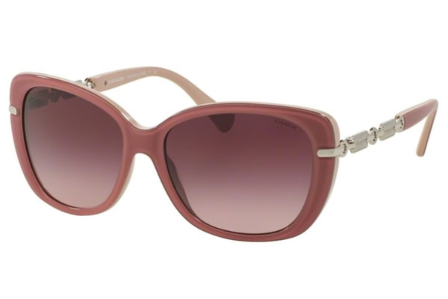 Pink Coach Sunglasses  coach hc8131 sunglasses by coach free shipping