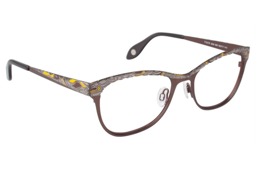 Fysh Uk Collection Fysh 3545 Eyeglasses By Fysh Uk Collection