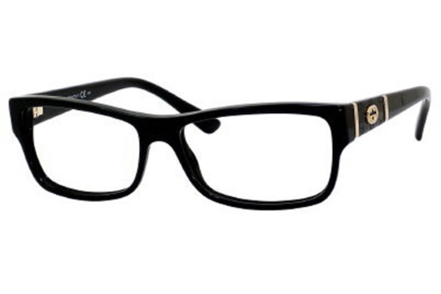 gucci 3133 eyeglasses in 0807 black