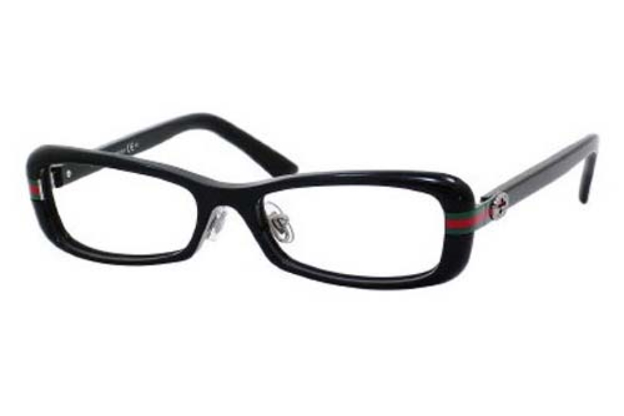 gucci 3529uf eyeglasses in 0807 black