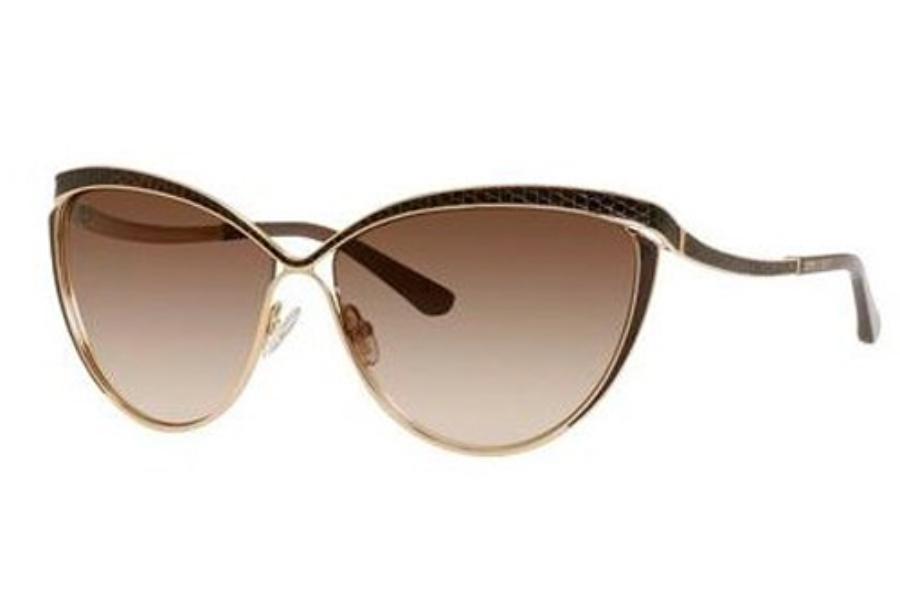 jimmy choo sunglasses online wm6r  Jimmy Choo POLLY/S Sunglasses in 0000 Rose Gold JD brown gradient lens