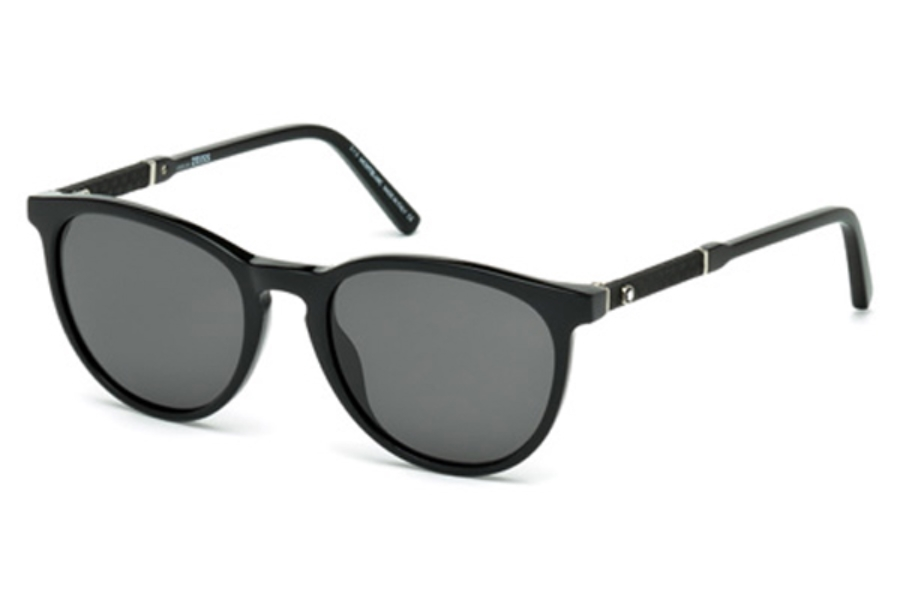 Mont Blanc Mb588s Sunglasses By Mont Blanc Free Shipping