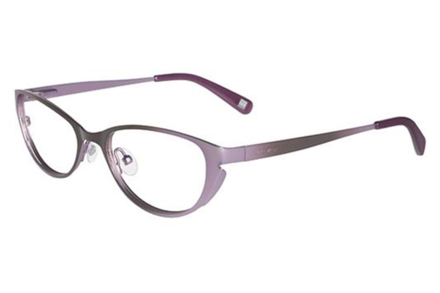 nine west nw1003 eyeglasses in 263 brown lilac