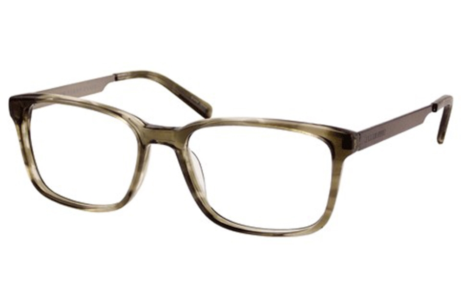 perry ellis pe 354 eyeglasses in grey crystal