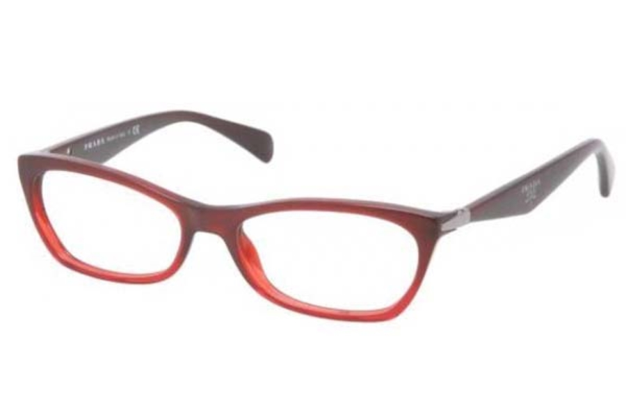 Prada Green Eyeglass Frames : Prada PR 15PV Eyeglasses by Prada FREE Shipping