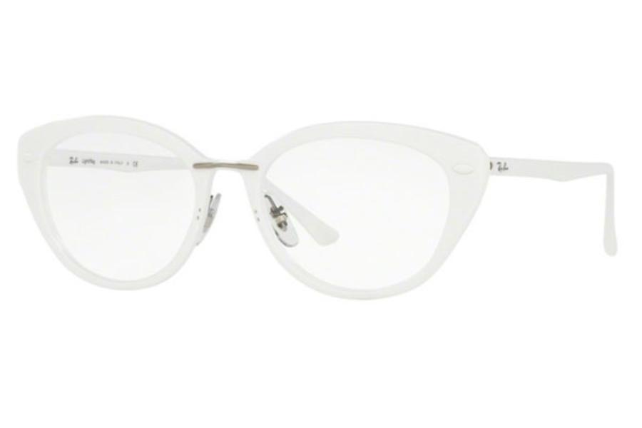 Ray Ban Black And White Eyeglasses