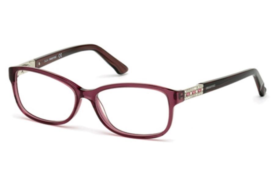 Eyeglass Frames With Swarovski Crystals : Swarovski SK5155 Foxy Eyeglasses by Swarovski FREE Shipping