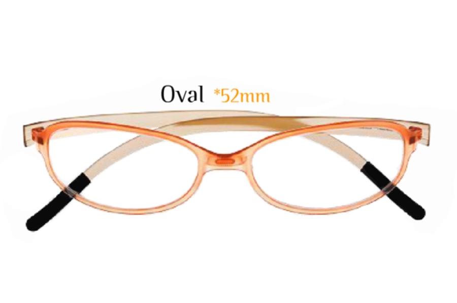 affd847b64 SwissFlex Rainbow Fullrim Oval Eyeglasses by SwissFlex