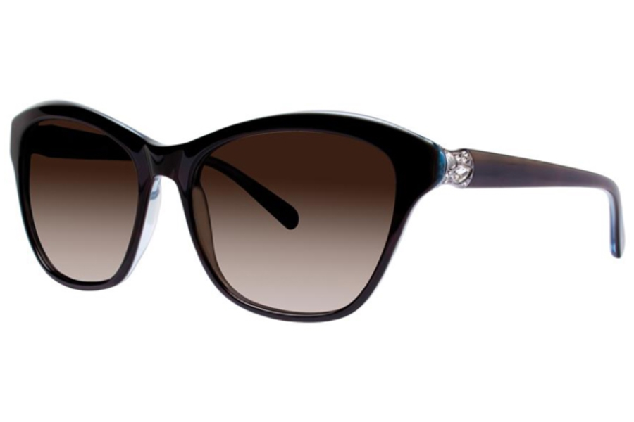 vera wang sora sunglasses in tortoise