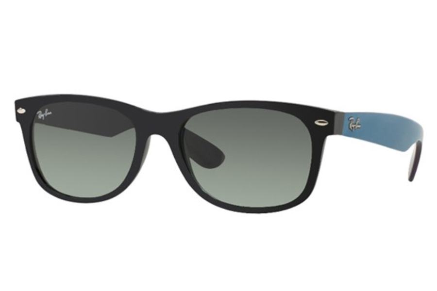new wayfarer ray ban ubp4  Ray-Ban RB 2132 New Wayfarer II Sunglasses in 618371 Matte Black w