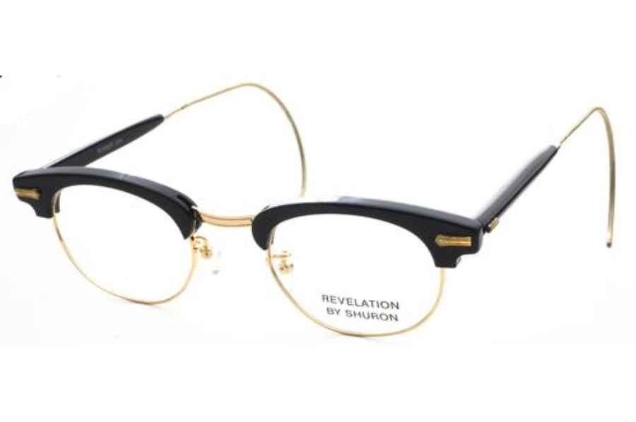 Glasses Frames Cable Temple : Shuron Ronsir Revelation w/ Relaxo Cable Temple Eyeglasses ...