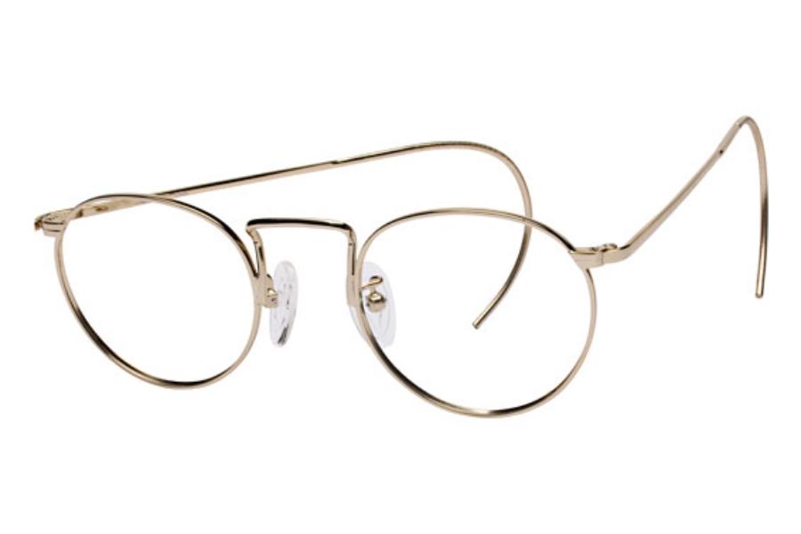 rimless cable temple eyeglasses louisiana brigade